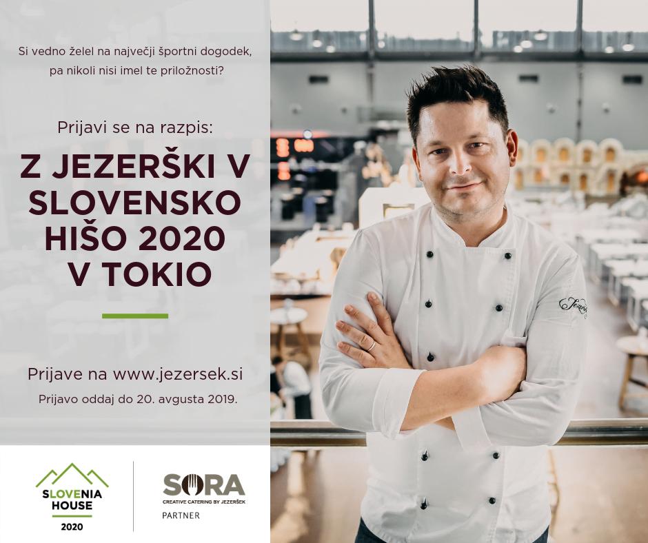 SLOVENSKA HIŠA TOKIO 2020 FB objava