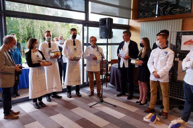 Denis Krajnc vice prvak v restavracijski strežbi na tekmovanju Olivier Roellinger 2021
